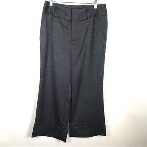 Banana Republic 12P Cuffed Wide Leg Dress Pants